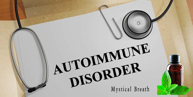 Essential oils for autoimmune disease