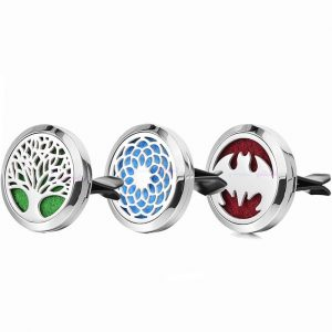 Stainless Steel Car Essential Oil Diffuser