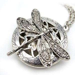 Dragonfly Aromatherapy Essential Oil Diffuser Locket