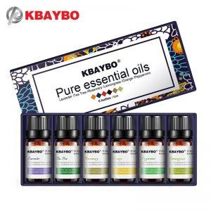 Six Quality Essential Oils