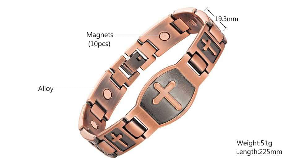 Copper Magnetic Bracelet