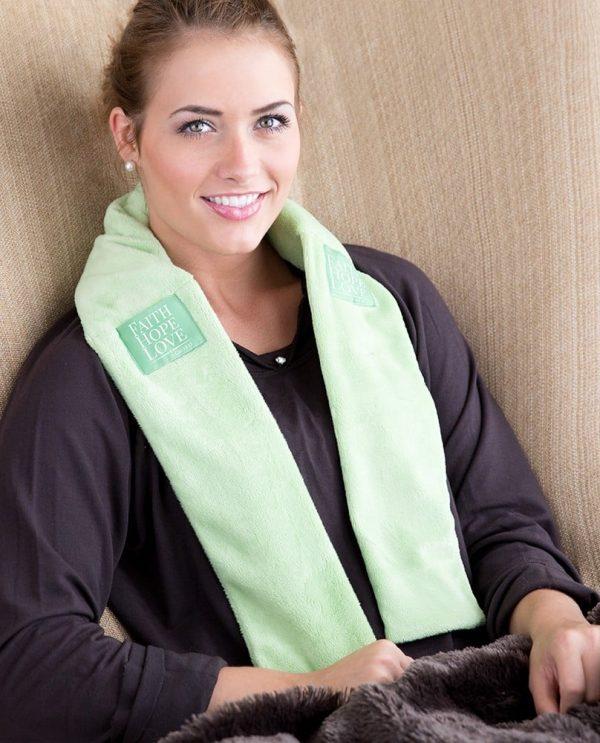 Bible Green Aromatherapy Wrap