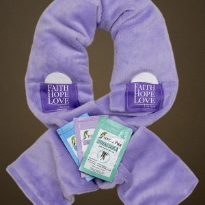 Bible Purple Aromatherapy Wrap