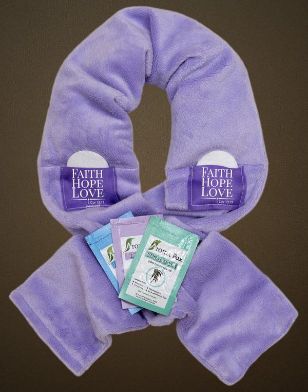 Bible Purple Aromatherapy Wrap