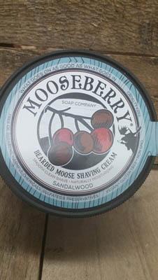 Bearded Moose Shaving Cream