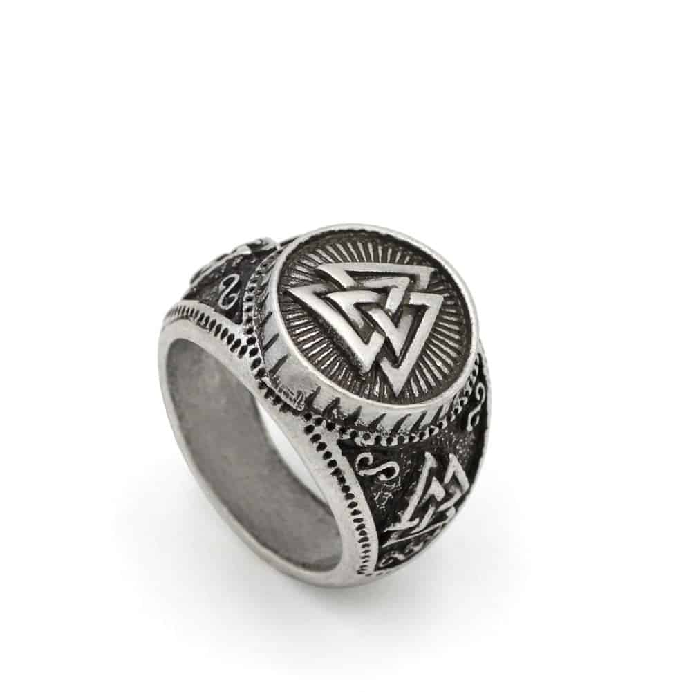 Odin S Symbol Amulet Wiccan Ring