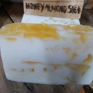Honey Almond Shea with Goat's milk