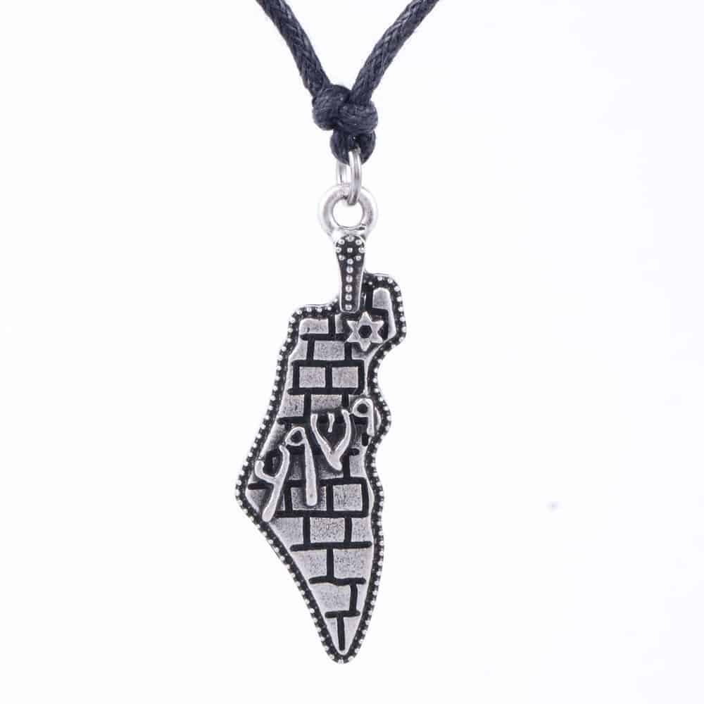 Israel Map Necklace - Mystical Breath