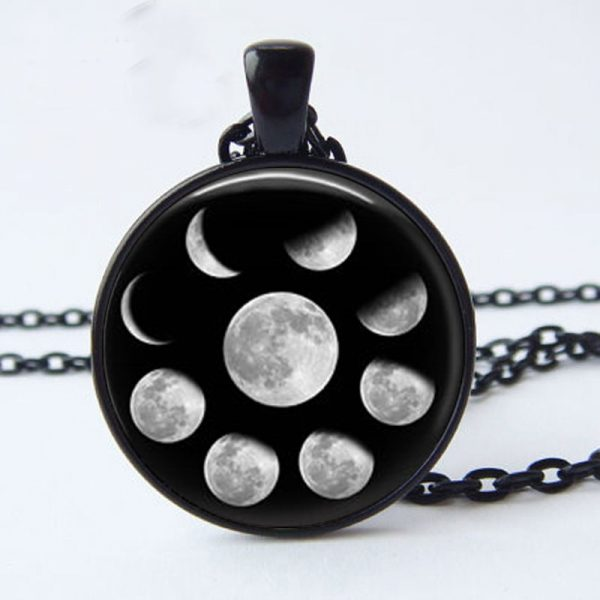 Wiccan Lunar Pendant
