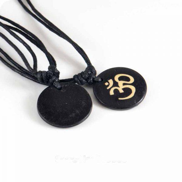 Hinduism-Yoga-India-yak-bone-Carving-Pendant-Necklace-Amulet