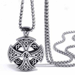 Celtic Cross Stainless teel