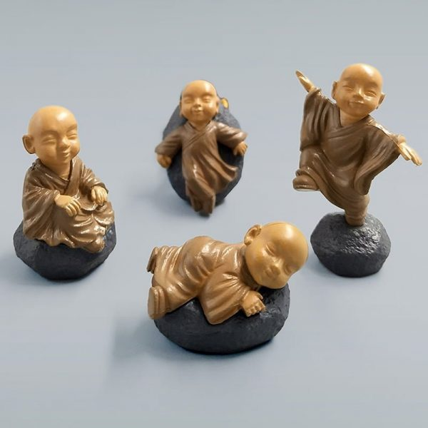 Brown Feng Shui Monks