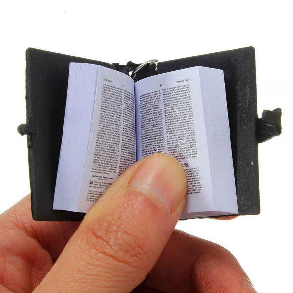 Mini Bible Keychain