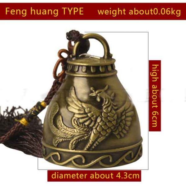 Feng Huang Style Feng Shui Bell