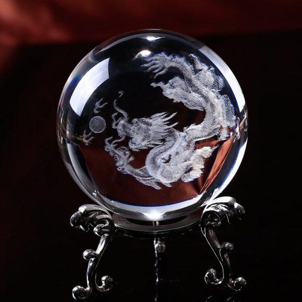 Feng Shui Dragon Crystal