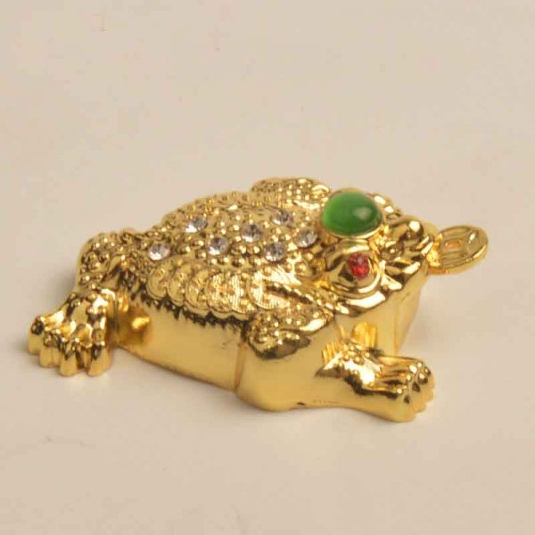 Gold Feng Shui Toad