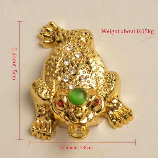 Gold toad Feng Shui