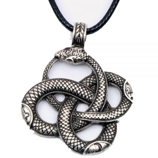Knotwork-Ouroboros-Necklace-