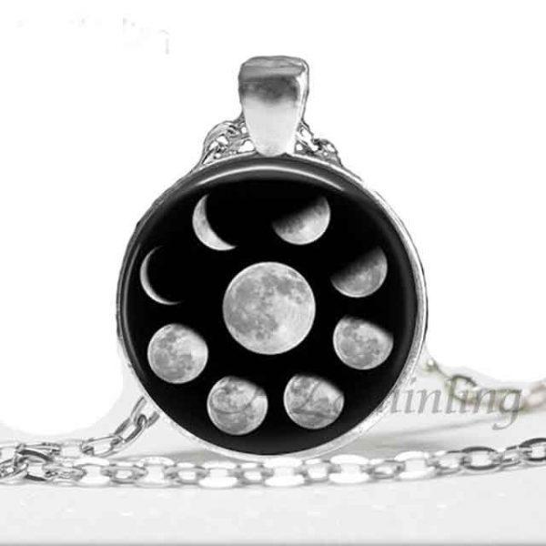 Lunar Pendant Silver