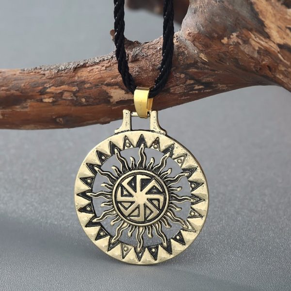 Bronze Plated Sunwheel
