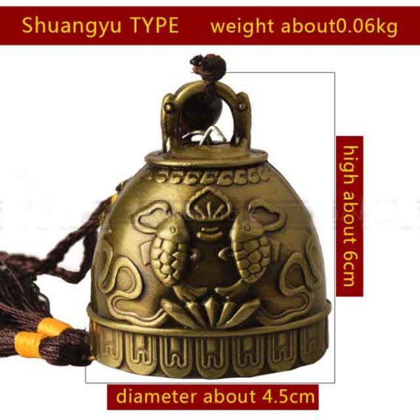 Shangyu type fen shui bell