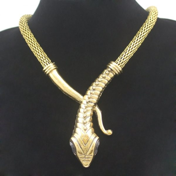 Egyptian Serpent Necklace
