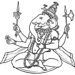 Hindu Jewelry and Artifacts