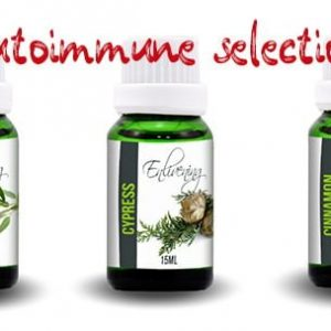 Autoimmune selection essential oils