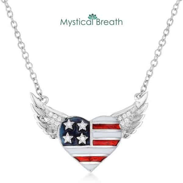 Patriot Jewelry Pendant