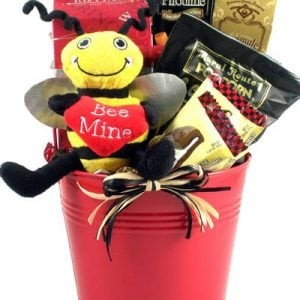 Bee Mine Valentines Day Basket