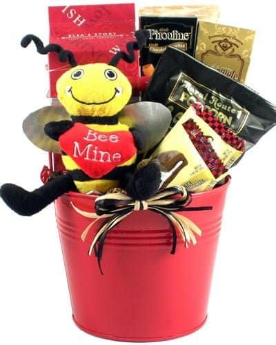 Bee Mine Valentines Day Basket