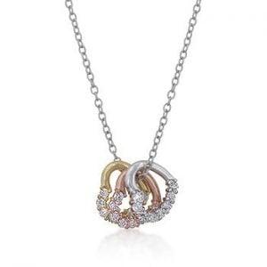 tritone hearts necklace