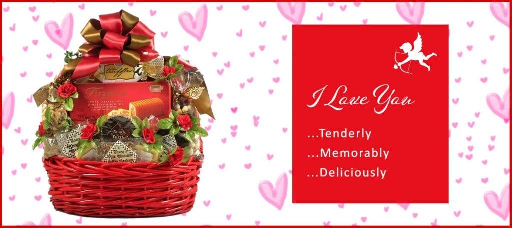 valentines day baskets