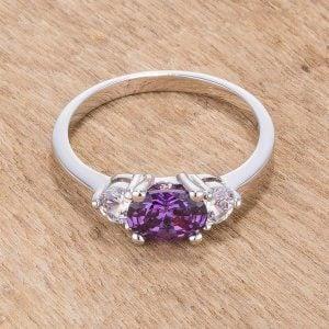 Amethyst Birthstone Ring for February