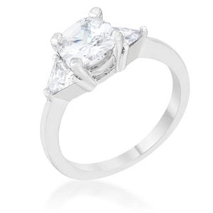 April Diamond Birthstone ring