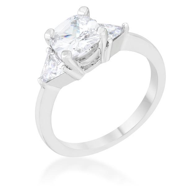 April Diamond Birthstone ring