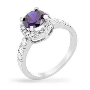December Tanzenite birthstone ring