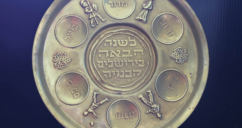 Seder Passover Plate
